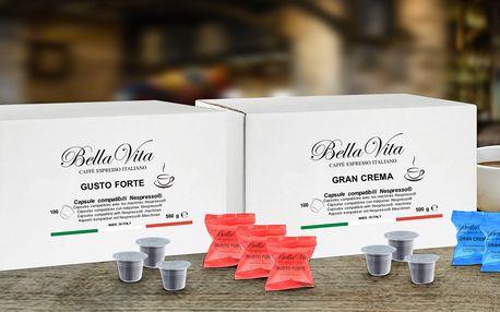 Kávové kapsle BellaVita kompatibilní s Nespresso