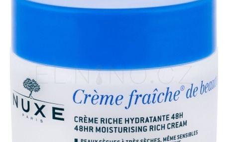 NUXE Creme Fraiche de Beauté 48HR Moisturising Rich Cream 50 ml hydratační pleťový krém pro suchou pleť pro ženy