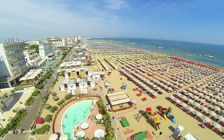 8–10denní Itálie, Emilia Romagna | Hotel Riviera/Arena*** 200 m od pláže| Dítě zdarma | Bazén, klimatizace | Polopenze | Autobusem nebo vlastní doprava