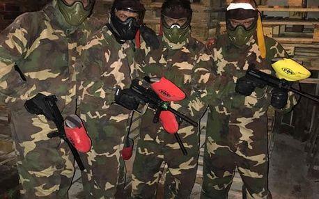 Army pánská jízda v paintballové aréně