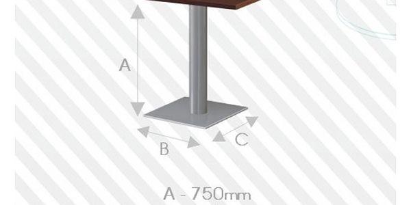 Stůl STRAKOŠ Uno I s kovovou konstrukcí
