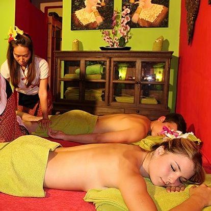 Dokonalé uvolnění pro dva. Párová masáž v Thajském ráji, procedura Garra Rufa s neuvěřitelnou slevou