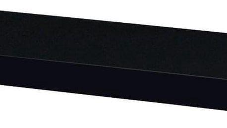 Autronic Polička 60cm P-001 BK černá lesklá