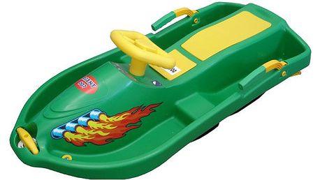 CorbySport Snow Boat 28144 Řiditelný bob - zelený