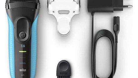 Braun Series 3 Series 3 3010s Wet&Dry bílý/modrý