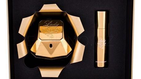 Paco Rabanne Lady Million dárková kazeta pro ženy parfémovaná voda 80 ml + parfémovaná voda 10 ml