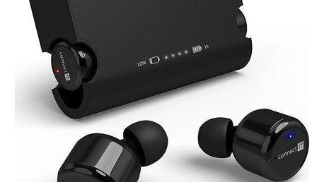 Connect IT True Wireless HYPER-BASS Bluetooth černé (CEP-9000-BK)