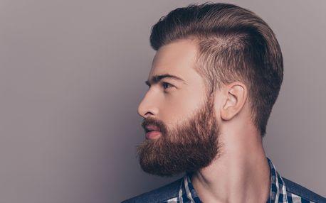 Profesionální pánský střih s barber kosmetikou Depot