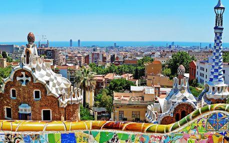Jarní Barcelona: doprava a hotel s polopenzí