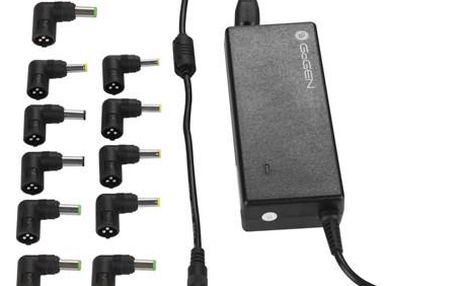 Napájecí adaptér GoGEN NTBAD 9011 UNI, univerzální pro notebooky černý (GOGNTBAD9011UNI)