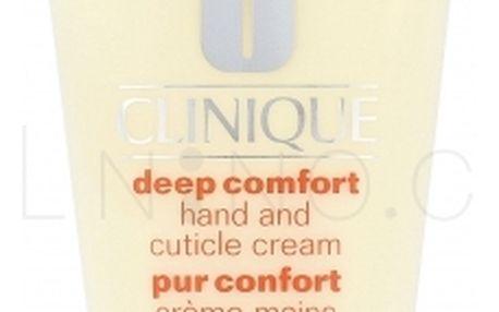 Clinique Deep Comfort 75 ml vyživující krém na ruce a nehty pro ženy