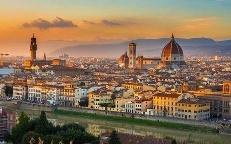 5denní zájezd pro 1 do Itálie s návštěvou San Marina, Florencie a Pisy