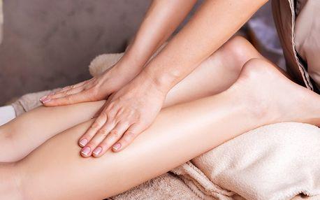 Manuální lymfatická masáž nohou a hlavy pro dámy