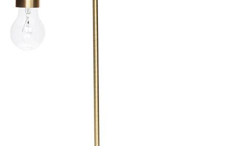 Hübsch Stolní lampa Gold brass, zlatá barva, kov