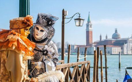 Benátky v období tradičních karnevalových oslav