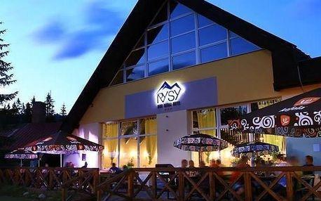 Vyražte za horskou turistikou do hotelu Rysy ve Vysokých Tatrách