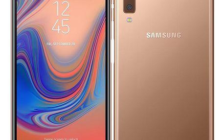 Samsung Galaxy A7 Dual SIM zlatý (SM-A750FZDUXEZ)
