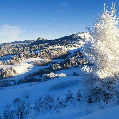 Zima nebo jaro s polopenzí v Krušných horách