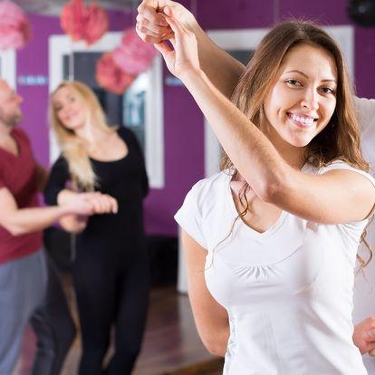 Tančírna s otevřenými lekcemi pro 1 nebo 2
