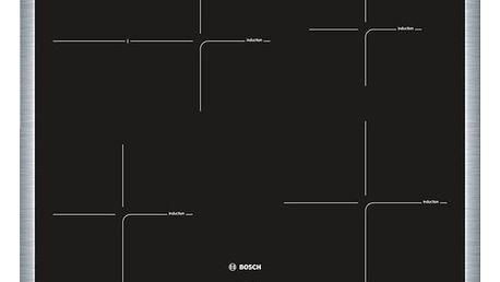 Bosch PIF645BB1E černá/nerez
