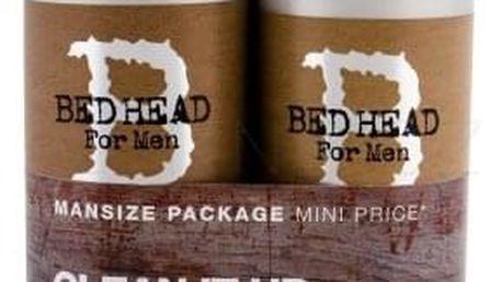Tigi Bed Head Men Clean Up dárková kazeta pro muže šampon 750 ml + kondicionér 750 ml