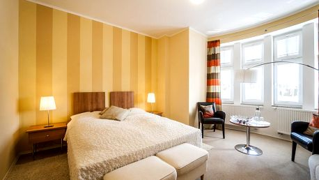Skvěle hodnocený Hotel Golf Garni*** v Mikulově se snídaní a saunou