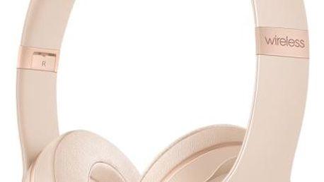 Beats Solo3 Wireless - matně zlatá (mr3y2ee/a)