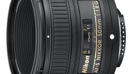 Objektiv Nikon NIKKOR 50 mm f/1.8G AF-S černý