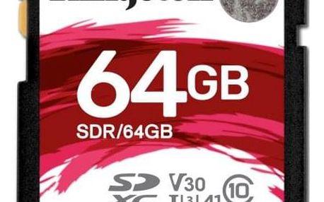 Kingston Canvas React SDXC 64GB UHS-I U3 (100R/80W) (SDR/64GB)