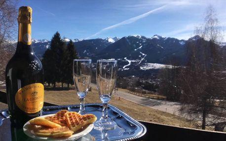 Lyžařský pobyt v Itálii/Val di Fiemme: 3-8 dní pro 1 os. s polopenzí
