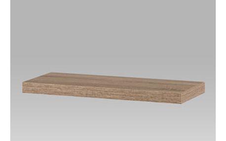 Nástěnná polička 60cm, barva sonoma dub