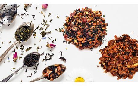 Sypané ovocné čaje různých příchutí