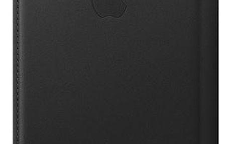 Apple Leather Folio pro iPhone Xs černé (MRWW2ZM/A)