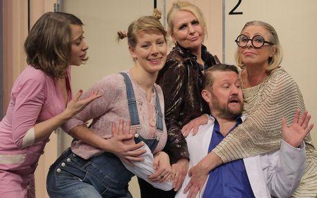 Vstupenka na divadelní komedii: Doktor v nesnázích