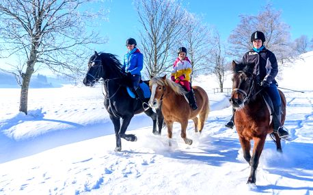 Pobyt na slovenském ranči: koně, ale i wellness