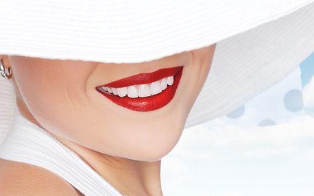 Zářivý úsměv: neperoxidové bělení zubů