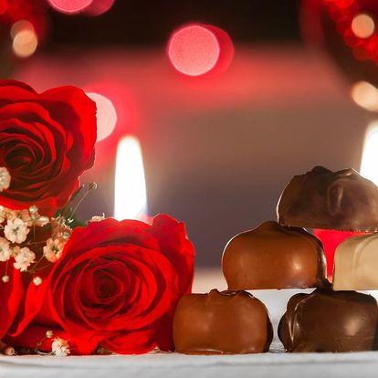 Valentýnský rituál pro 2: koupel, masáž i dobroty