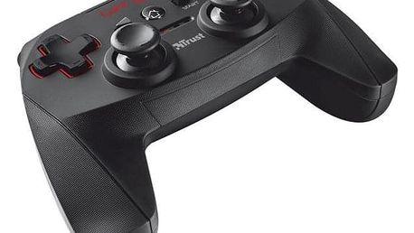 Trust GXT 545 Wireless pro PC, PS3 černý (20491)