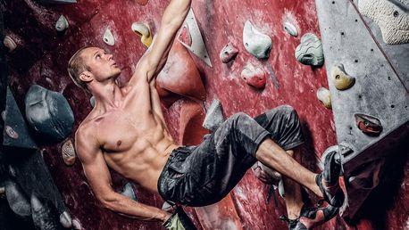 Lezení na horolezecké stěně i kurz pro 2 osoby