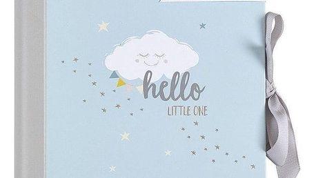 Busy B Deník miminka Baby B Blue, modrá barva, papír