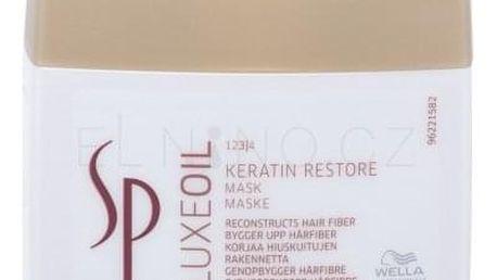 Wella SP Luxeoil Keratin Restore Mask 400 ml regenerační maska pro poškozené vlasy pro ženy