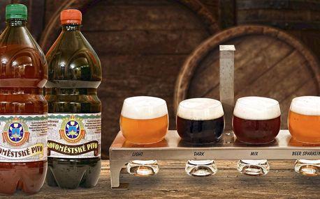 Degustační posezení v Novoměstském pivovaru pro 2