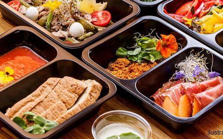 Krabičková dieta: na 1 den i 6denní