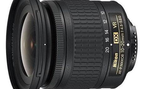 Objektiv Nikon NIKKOR 10-20 mm f/4.5-5.6G VR AF-P DX černý (JAA832DA)