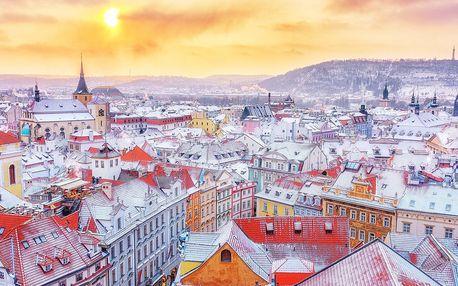 Zimní romantika v centru Prahy se snídaní