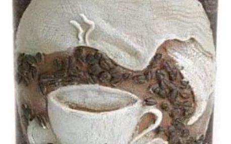 Svíčka motiv šálek kávy