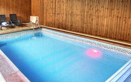Relax na Moravě: polopenze, bazén, vířivka, výlety
