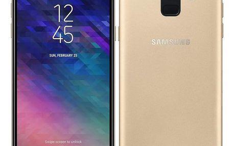 Samsung Galaxy A6 zlatý (SM-A600FZDNXEZ)