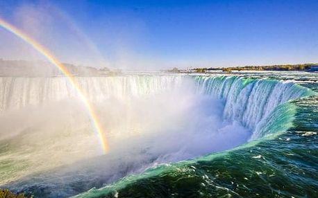 Za krásami Niagarských vodopádů i slavných velkoměst, Kanada, letecky, snídaně v ceně