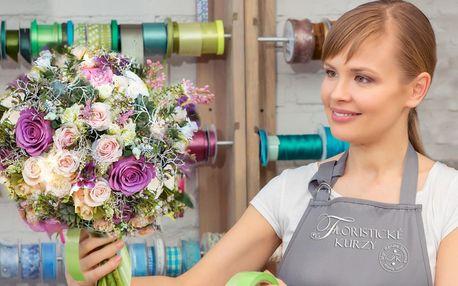 Floristické kurzy: Uvažte si kytici nebo čelenku